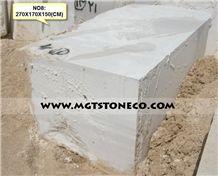 Iran Bianco Coral White Marble Block