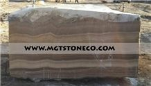 Iran Brown Onyx Blocks