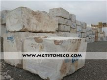 Iran Dark Chocolate Travertine Block