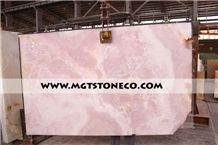 Iran Pink Onyx Slabs & Tiles