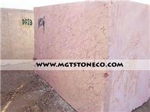 Iran Pink Spider Marble, Pink Spider Marble Block