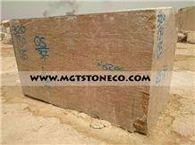 Iran Walnut Travertine Block