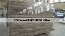 Titanium Light Silver Travertine Slabs & Tiles