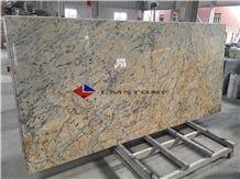 Yellow Granite Countertop ,Giallo Santa Cecilia Light, Santa Cecilia Granite Tabletops, Yellow Granite Work Tops