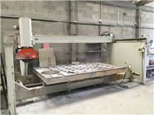 Italian Bridge Saw Metal Quattro Year 2008 - Secondhand Cutting Machine