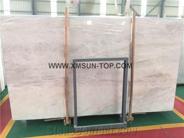 Polished chinese sun white marble with unique decoration effect