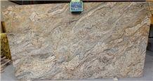Golden Fantasy Slabs - 3cm - 340x200, Golden Fantasy Granite Slabs & Tiles