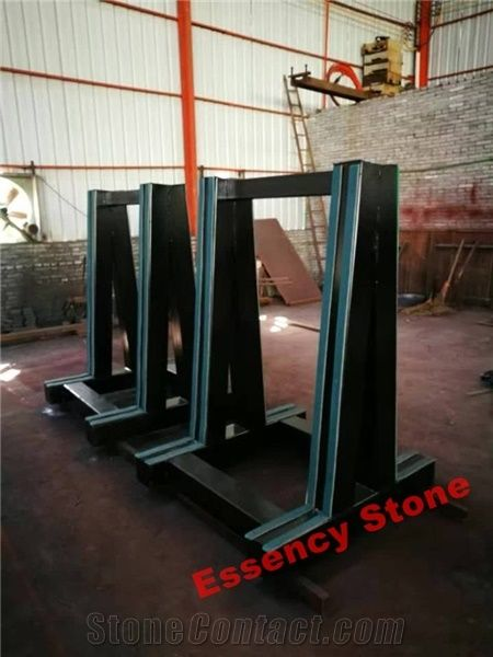 Granite Marble Quartz Stone Slabs Display A Frame From