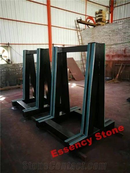 Granite Marble Quartz Stone Slabs Display A Frame