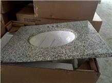 Tongan White Rice White Hazel White Star Grey G655 Tops Bathroom Vanity Top Slab
