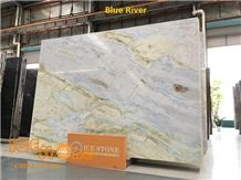 Blue and Green Color/Moon River/China Stone Products/Marble Slabs/Tiles/Cut to Size/Wall Cladding/Floor Coverings/Bookmatch/Backlit/2cm Polished