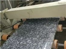 Surf White Seawave Flower Polished Granite Slabs Tiles