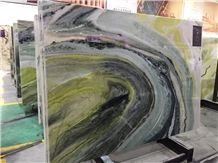 China Green Marble Tiles & Slabs/Dreaming Green Marble Big Slabs/Chinese Green Marble Wall Covering Tiles/Chinese Green Marble Floor Covering Tiles/Big Flower Green Marble Slabs