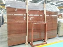 China Red Wooden Vein Marble/Polished Chinese Red Serpeggiante Marble Slabs & Tiles/ Wooden Red Marble Tiles & Big Slabs For Wall & Floor/Wood Grain Red Marble