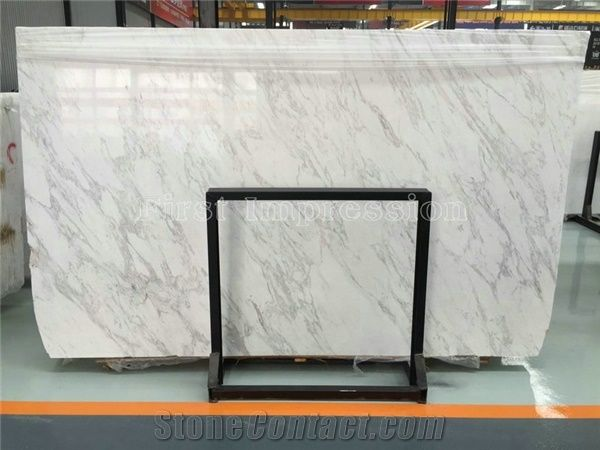 Itain Peirce White Marble Italy Big Slabs Royal Tiles Floor Wall Pure