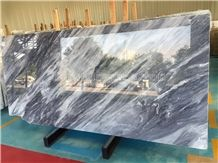 Italian Grey Marble Tiles & Slabs/Italy Gray Marble Tiles/Italy Marble Big Slabs/Grey Marble Wall & Floor Covering Tiles/New Marble High Quality & Best Price/Hotel Decoration/Marble With Dark Vein