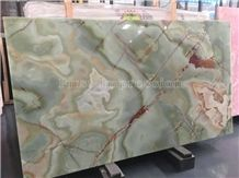 Jade Green Onyx Slabs & Tiles/Background Wall Covering/Stair/Skirting/ Cladding/Cut-To-Size for Floor Covering/Interior Decoration/Wholesale/Onyx Wall & Floor Tiles/Onyx Pattern/Pervious to Light Onyx