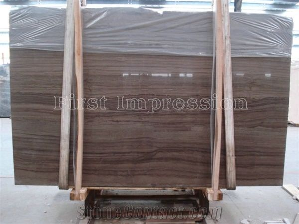 Mediterranean Wood Grain Marble Slabs New Material Tiles Cut To Size For Floor Wall Covering Interior Decoration Indoor Metope Stage Face