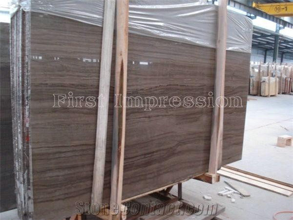 Mediterranean Wood Grain Marble Slabs New Material Tiles Cut To Size For Floor Wall Covering Interior Outside Decoration Indoor