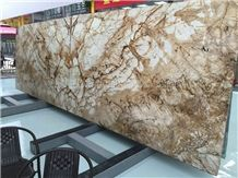 New Polished Brazil Roma Impression Natural Quartzite Slabs & Tiles/Slabs/Private Meeting Place/Top Grade Hotel Interior Decoration Project/New Finished/High Quality & Best Price
