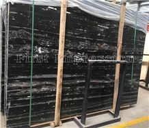 Silver Dragon Marble Slabs & Tiles, China Black Marble with White Veins , Wall and Floor Covering Decoration Etc.