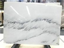 White Crystal Marble Slab High Quality/Landscape Painting Marble Slabs & Tiles/Jingya White Marble/Polished Marble Wall & Floor Covering Tiles/Background Wall / Pure White Marble