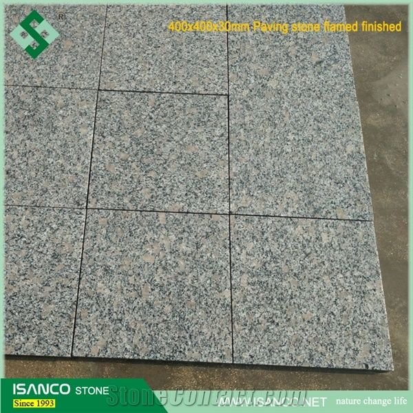 China Own Quarry Flamed Red Granite Tile Flooringfl On: China Cheapest Grey Granite Cobble Stone G383 Light Grey
