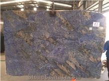 Blue Persa Granite Slab & Tile, Brazil Blue Granite