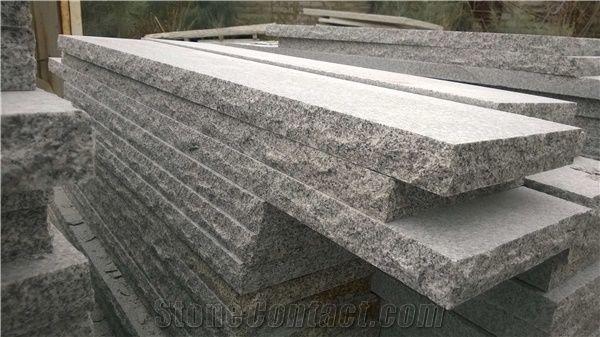 Salt Pepper Granite Treads From China Stonecontact Com