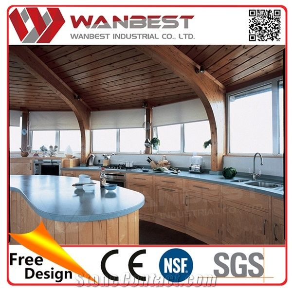 kitchen cabinet solid surface boat kitchen artificial marble kitchen counter top kitchen 19598
