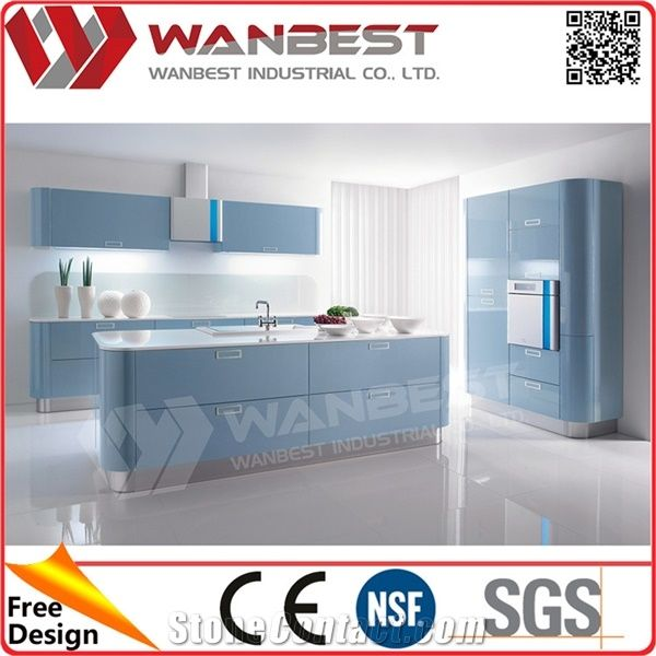 Solid Surface Kitchen Cabinet: Quality Life Kitchen Furniture Design Waterproof Solid