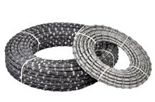 Diamond Cutting Wire Saw for Granite with Pre - Sharpened Sintered Wire Beads