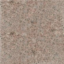 Hjm Light Red Flamed Surface Granite Tiles and Slabs