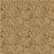 Hjz Dark Yellow Granite Tiles and Slabs
