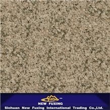 Hjz Light Brown Granite Slabs and Tiles Polished