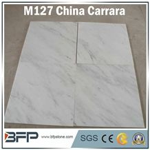 China Cararra,White Marble Tiles,China Cararra Tiles,Marble Floor Tiles,Flooring Tiles