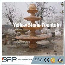 Marble Fountain, Graden Fountain, Exterior Decoration, Sculptured Fountain, Carved Fountain