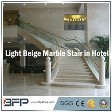 Natural Marble Stone for Elegant Stairs/Steps&Risers/Treads&Riser for Internal Decoration
