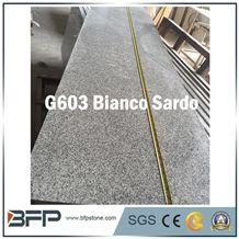 Popular Countertop G603 Bianco Sardo Grey Kitchen Counter Top Polished Countertop