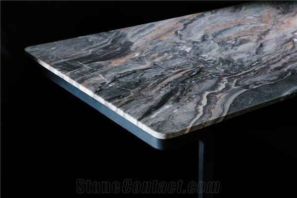 Nordst Rectangular Grey Marble Dining Table From China Stonecontact Com