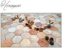 Hexagon Terracotta Floor Tiles