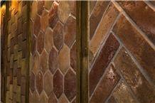 Recalaimed Antique Terracotta Tiles