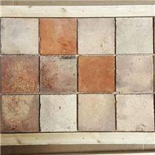 Square Terracotta Tiles 15x15 cm (6x6 )