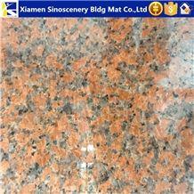 Maple Red Granite Slabs Tiles for Interior Exterior Wall Flooring Decor