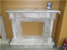 Daino Reale Marble Fireplace Mantel