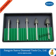 Sunva-Sz-5 Diamond Mounted Points 5pcs/Set