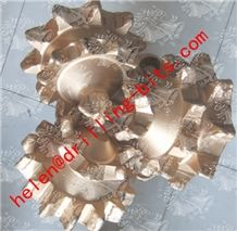 """Api 12 1/4"""" Ha317 Steel Tooth Tricone Drill Bit / Rock Bit / Mill Teeth Tricone Roller Bit"""