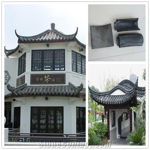 asian style garden house grey chinese clay roof tiles from chinaasian style garden house grey chinese clay roof tiles