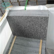 Black Granite, G684 Granite, Black Granite, Black Pearl, Fuding Black Granite,Wall Tile, Flooring Tile, China Black Granite for Kitchen-Top, Vanity Top, Wall Cladding, Cobbles and Paving Stone, Flamed