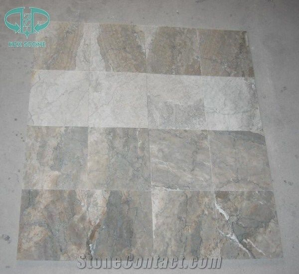 Chinese Green Cream Marble Temple Grey Cream Marble China